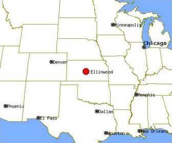 Ellinwood map image