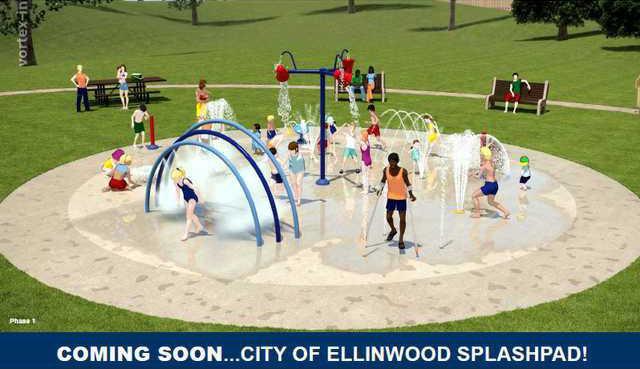 new vlc Ellinwood splash pad pic