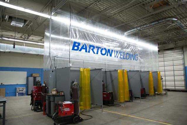 new slt welding lab