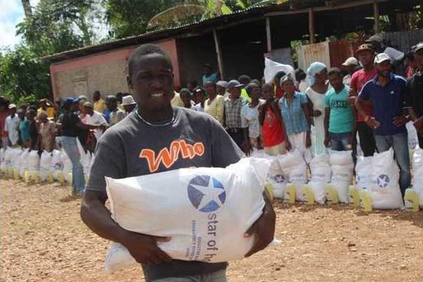haitian volunteer