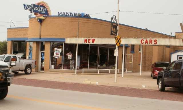 Manweiler Chevrolet Receives Historic Designation Great