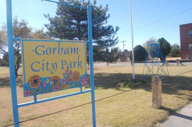new deh gorham park sign