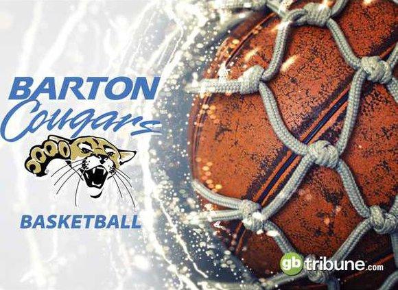 barton community college basketball