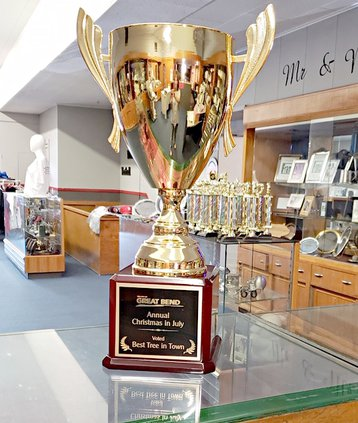 christmas in july trophy