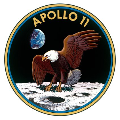 Apollo 11 NASA emblem