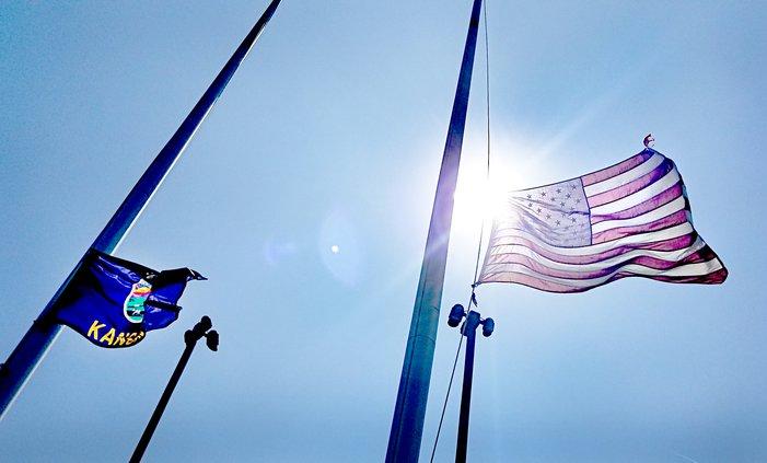courthouse flag 9-11-19