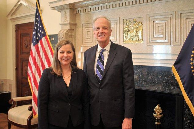 Moran and Michelle Bowman