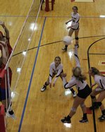 11 Jenna Mauler attacks at the net.JPG