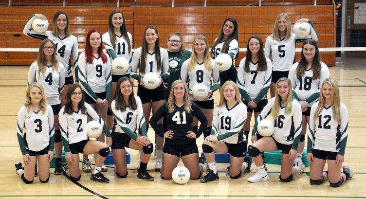 Oiler volleyball team