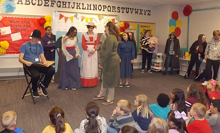 Little Red Hen GBHS skit