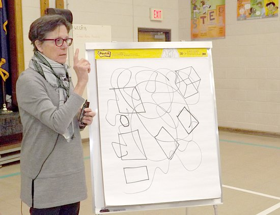 Nancy Carlson doodles