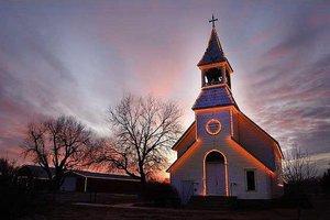 historical church trail lights