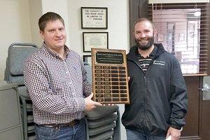 Dereck Hollingshead award